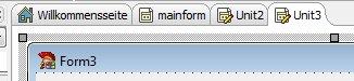 Formular-Register Delphi 2009