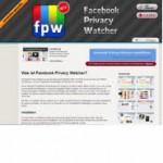 Facebook Privacy Watch - Firefox Addon