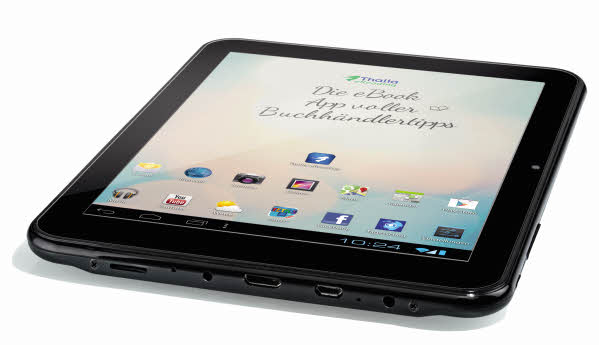 CAT Tablet PC 4 schräg liegend