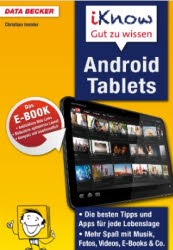 eBook: iKnow Android Tablets con Christian Immler