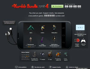 The Humble Bundle for Android