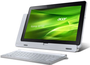 Acer ICONIA W700-53314G12as mit Windows 8