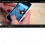 Firefox OS auf dem Smartphone