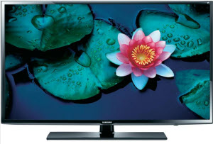Samsung UE40EH6030 3D-LED TV mit 2 Active Shutter Brillen