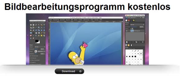 Bildbearbeitungsprogramme kostenlos