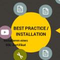SSL Zertifikate Installation
