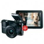 Samsung Galaxy Tab 2 + Samsung NX1000 Systemkamera SW Kit
