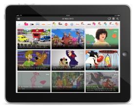 Magine on iPad - Grid view