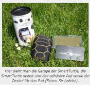 SmartTurtle, der iPhone Sitzsack, getestet auf Sir Apfelot