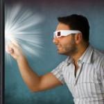 3D Brille Fernsehen