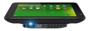 Aiptek Projector Pad P100 - Tablet und Beamer in einem