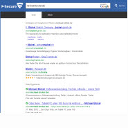 Internet Sicherheit mit F-Secure Safe Search