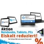 12% Rabatt auf alle HP Notebooks, Desktop und Tablets (Blackfriday weekend)