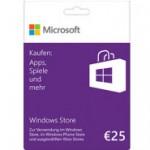 Microsoft: Guthabenkarten für Apps und Co