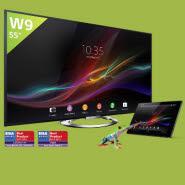 ony TV Bravia W9 KDL-55W905A kaufen und Sony Xperia Tablet Z kostenlos dazu