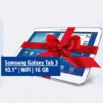 Samsung Galaxy Tab 3 als Gratis Beilage zum 1&1 DSL Tarif