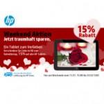 15% Valentinstags Rabatt auf HP Tablets!