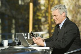 Business Notebook Phone