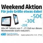 HP Tablets bis zu 50 Euro reduziert
