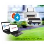 HP Weekend Angebot: Notebook und Drucker zum Notebook Preis
