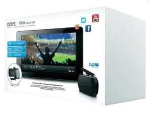 Odys WM-Fan Paket: Odys Leos Quad inklusive Smart DVB-T Box und KFZ-Halterung