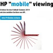 "HP ""mobile"" viewing Aktion"