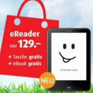 Tolino Vision Bundle: eBook Reader + Top eBook + Gratis Tasche für 129 Euro