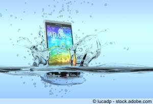 Wasserdichtes Smartphone