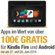 Android Apps im Wert von über 100 Euro gratis bei Amazon