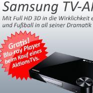 Aktion: Samsung Full-HD TV kaufen und Blue-ray Player gratis erhalten
