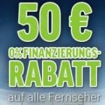 TV & Beamer Aktion mit 50 Euro Rabatt bei 0% Finanzierung