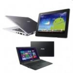ASUS F551MA-SX063H Notebook und ASUS Transformer Book Trio TX201LA-CQ013H Notebook 2-in-1 im Angebot
