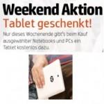 HP Weekend Aktion: Tablet geschenkt