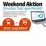 HP Weekend: Drucker fast geschenkt