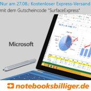 Surface Pro 3 mit Gratis Express Versand