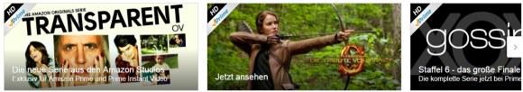 Amazon Instant Video (Screenshot Webseite)