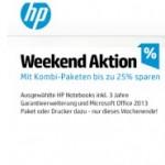 HP Weekend: Bis zu 25% bei Kombi-Paketen sparen