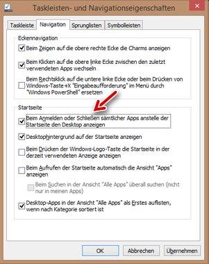 Windows 8.1: Gib mit meinen Desktop wieder