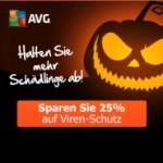25% Rabatt auf AVG Viren-Schutz