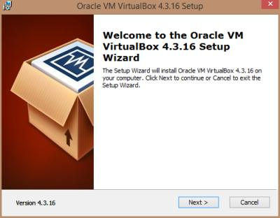 Oracle VirtualBox installieren