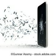 Tablet PC Glasbruch