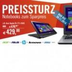 Preissturz bei Notebooks, tolle Notebook Angebote übersichtlich