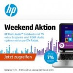HP Beats Audio™ Notebooks mit 7% Extra-Ersparnis (HP Weekend)