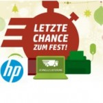 HP: Bis 55 Euro Rabatt und Lieferung zum Fest