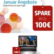 HP Weekend: bis zu 100 Euro sparen Bei Notebook / Tablet und mehr (extra lang)