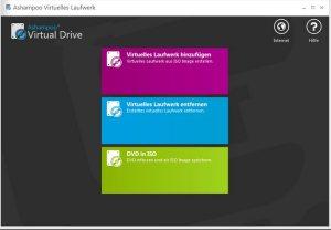 Ashampoo ZipPro ISO Dateien als virtuelles Laufwerk einbinden