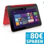 Bis zu 80 Euro Rabatt auf HP Convertible PC mit DataPass und vielen Extras