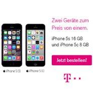 Telekom Valentinstags Angebot: Zwei Top Smartphone zum Preis von einem