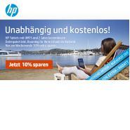 HP Weekend: 10% Extra Rabatt auf Tablets im HP Store Infoseite