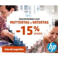 """f15% sparen bei HP """"Geschenkideen zum Mutter- und Vatertag im HP Store"""""""